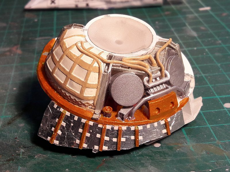 Apollo CSM [Revell 1/32] - Montage de Lunokhod 2 024