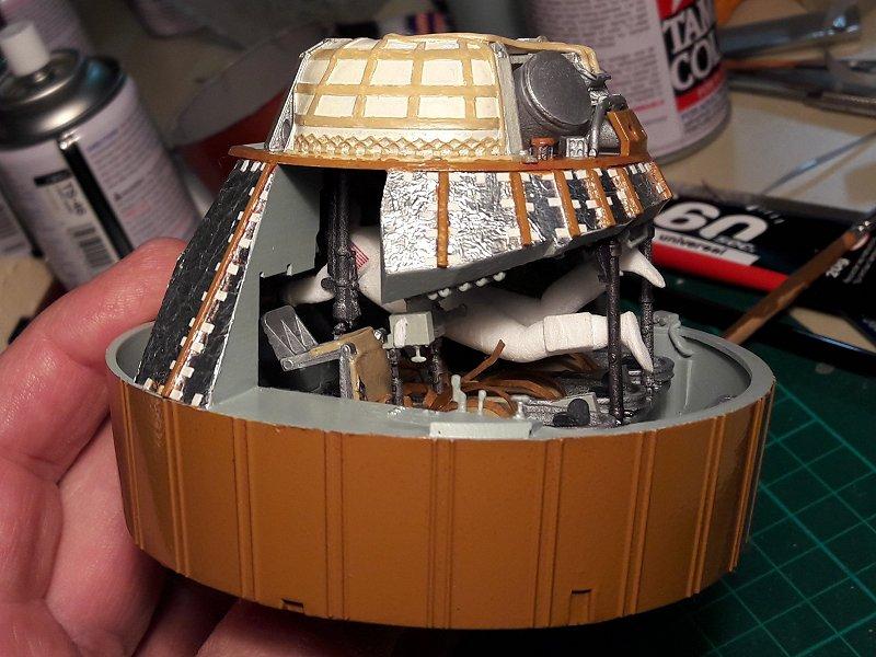 Apollo CSM [Revell 1/32] - Montage de Lunokhod 2 029