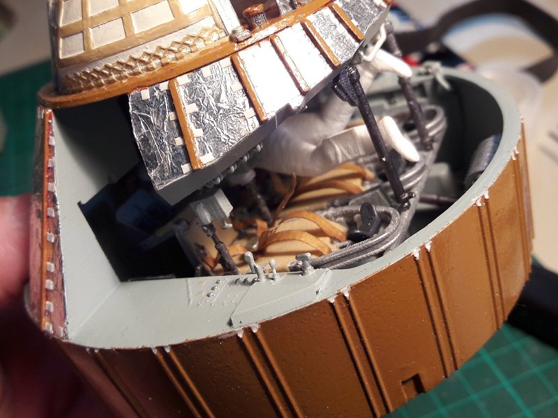 Apollo CSM [Revell 1/32] - Montage de Lunokhod 2 033