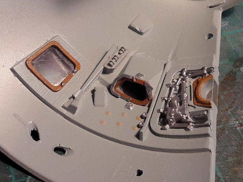 Apollo CSM [Revell 1/32] - Montage de Lunokhod 2 045