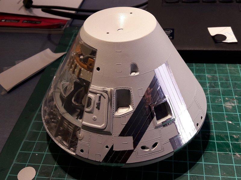Apollo CSM [Revell 1/32] - Montage de Lunokhod 2 050