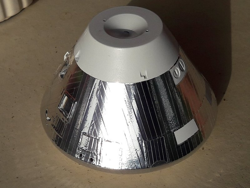 Apollo CSM [Revell 1/32] - Montage de Lunokhod 2 051
