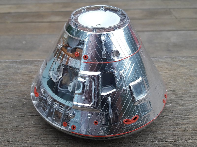 Apollo CSM [Revell 1/32] - Montage de Lunokhod 2 058