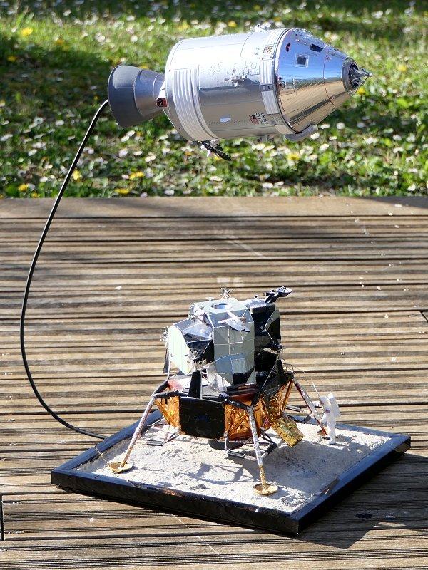 Apollo CSM [Revell 1/32] - Montage de Lunokhod 2 P01