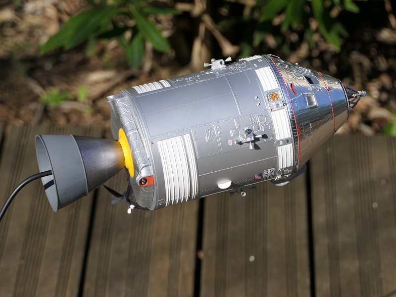 Apollo CSM [Revell 1/32] - Montage de Lunokhod 2 P02