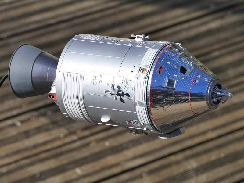 Apollo CSM [Revell 1/32] - Montage de Lunokhod 2 P03