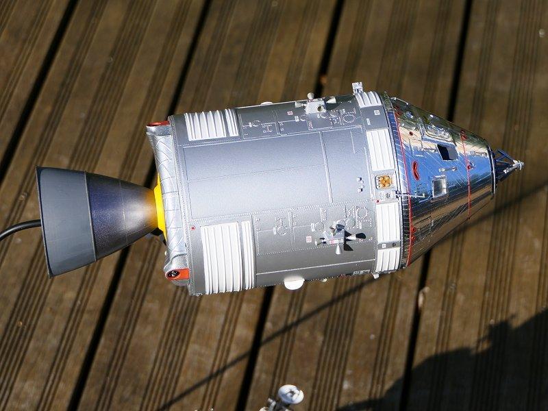 Apollo CSM [Revell 1/32] - Montage de Lunokhod 2 P07