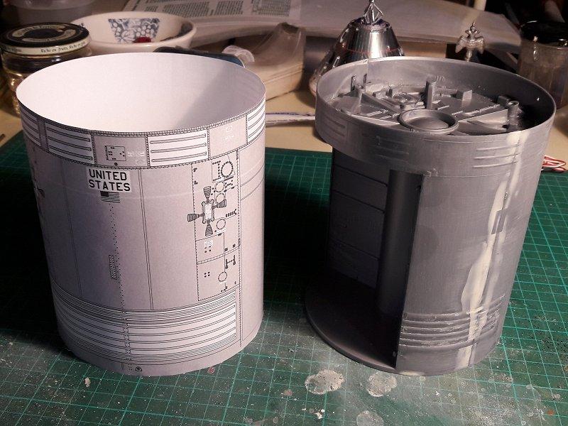 Apollo CSM [Revell 1/32] - Montage de Lunokhod 2 001