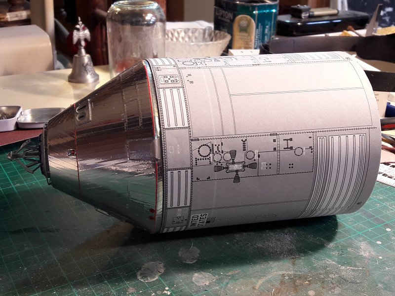 Apollo CSM [Revell 1/32] - Montage de Lunokhod 2 002