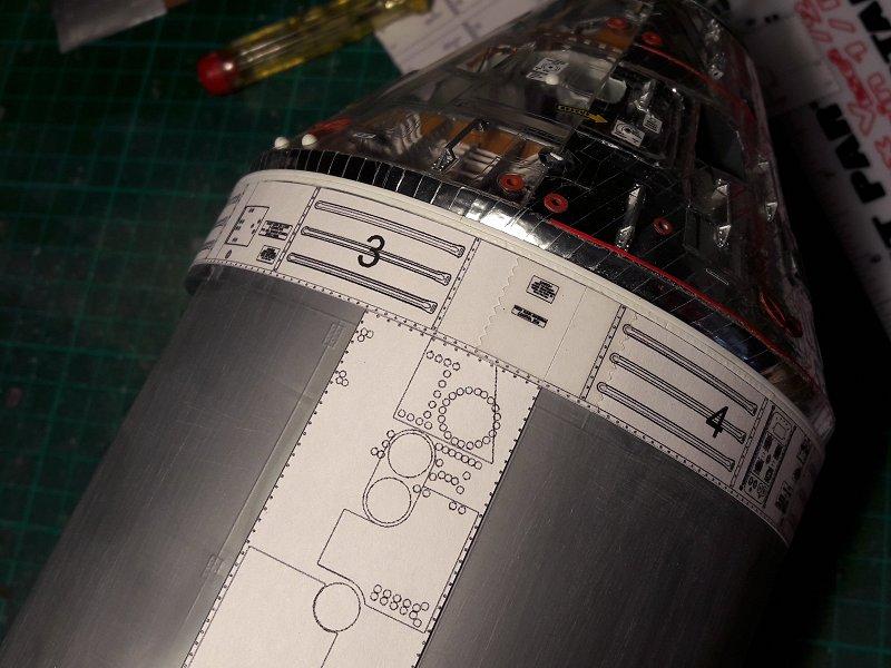 Apollo CSM [Revell 1/32] - Montage de Lunokhod 2 005