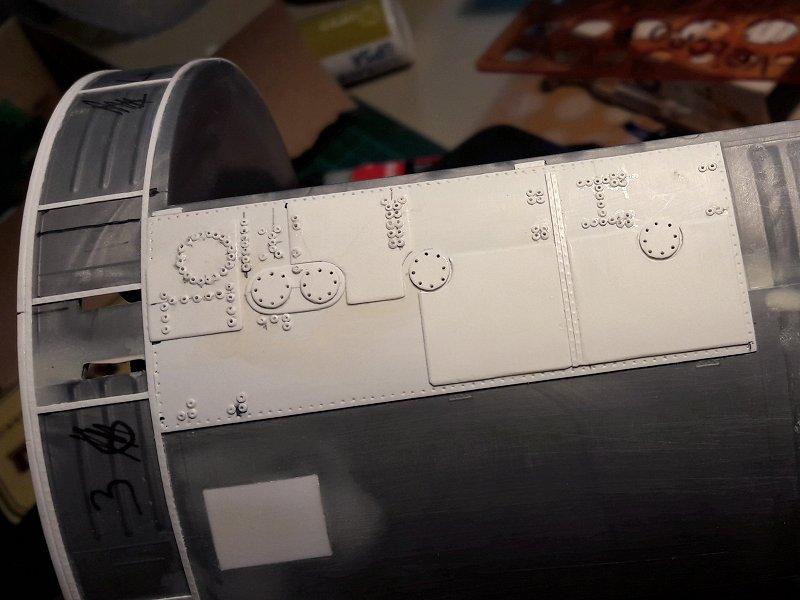 Apollo CSM [Revell 1/32] - Montage de Lunokhod 2 007