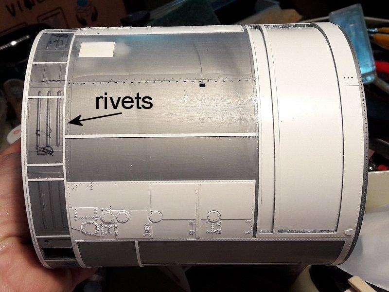 Apollo CSM [Revell 1/32] - Montage de Lunokhod 2 015