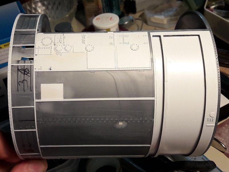 Apollo CSM [Revell 1/32] - Montage de Lunokhod 2 016