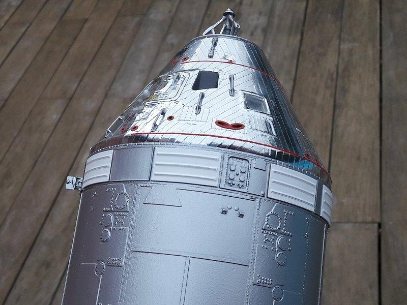 Apollo CSM [Revell 1/32] - Montage de Lunokhod 2 027