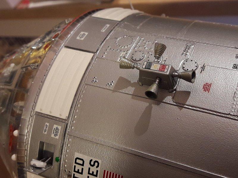 Apollo CSM [Revell 1/32] - Montage de Lunokhod 2 083