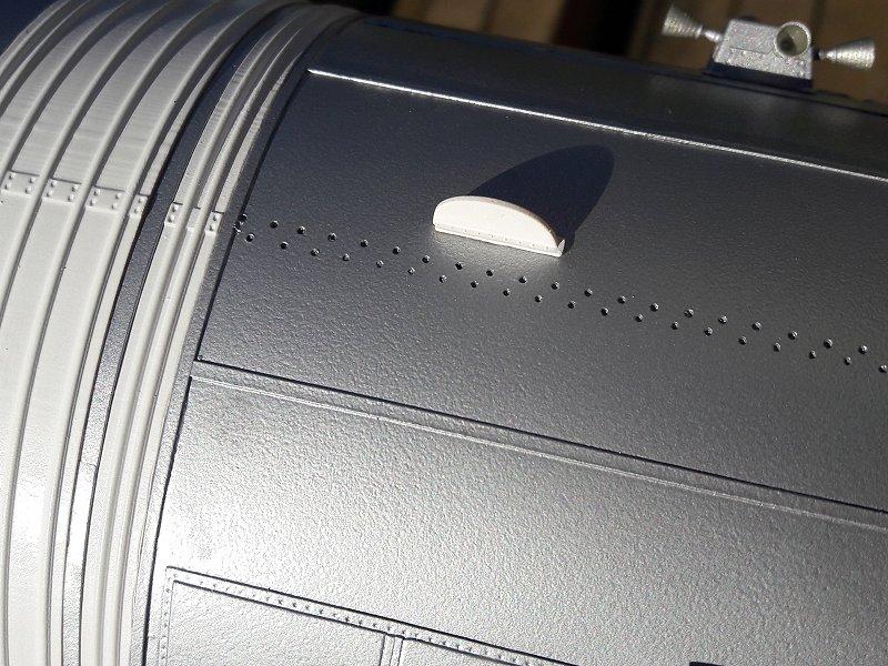 Apollo CSM [Revell 1/32] - Montage de Lunokhod 2 085