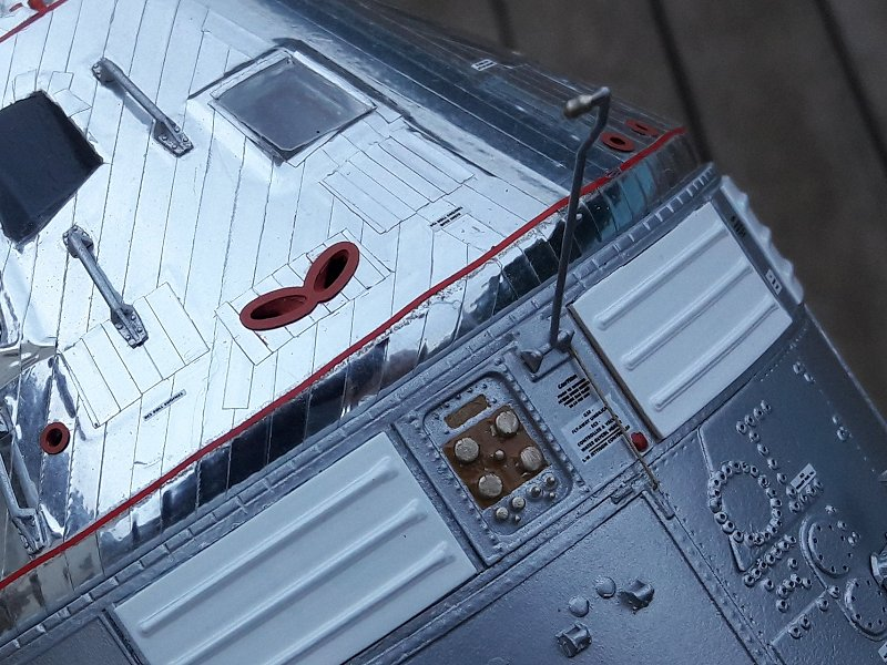 Apollo CSM [Revell 1/32] - Montage de Lunokhod 2 087