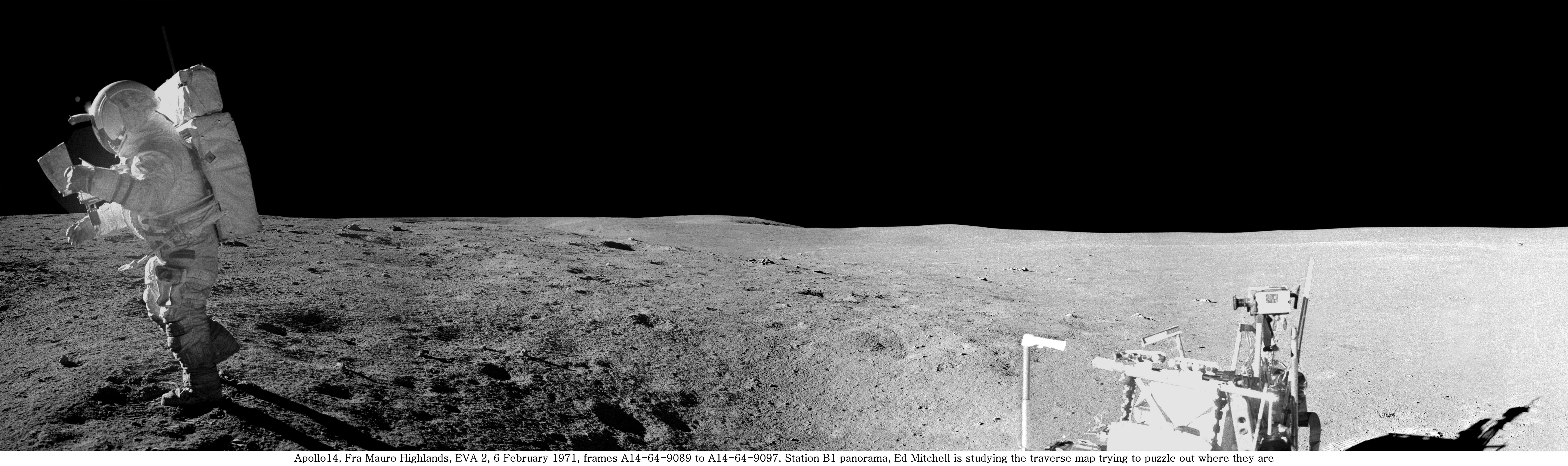 panoramic moon earth-#7