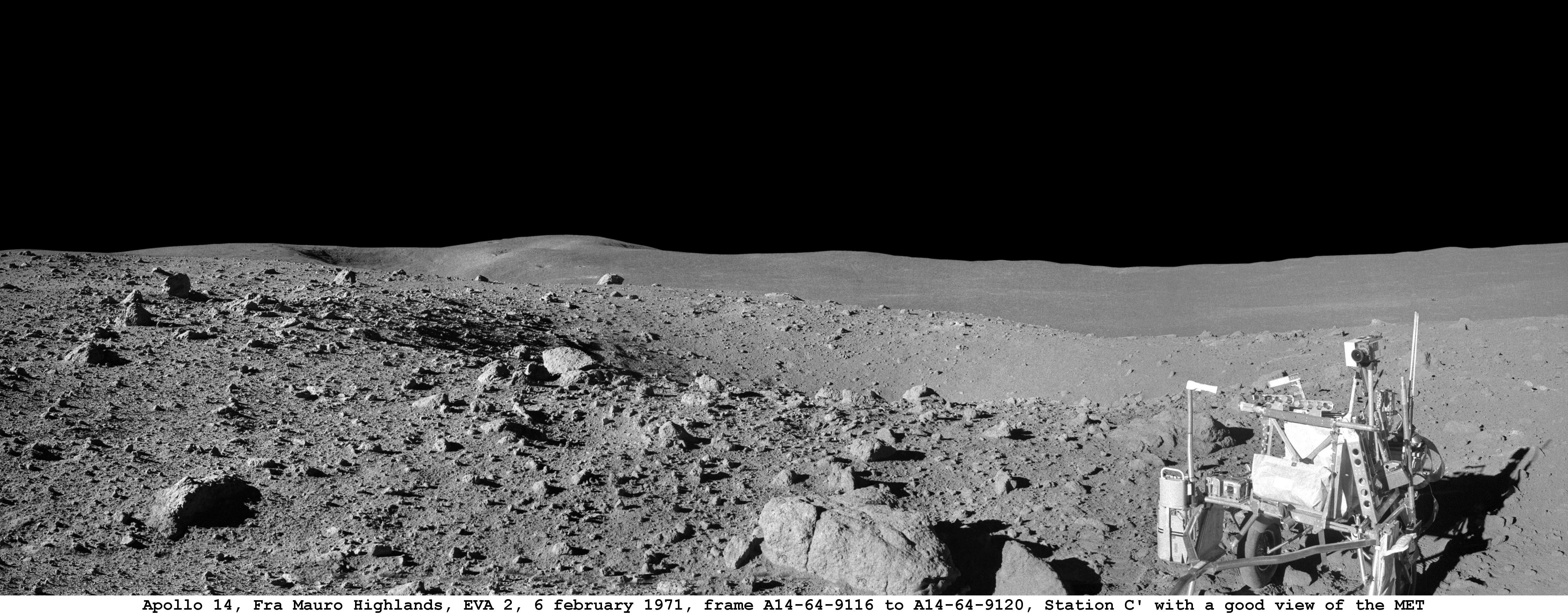 panoramic moon earth-#8