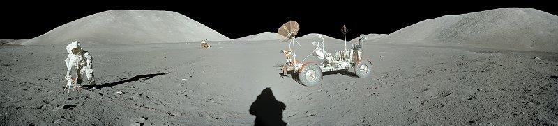 les 40 ans Apollo 17  A17-134-20440-46LR