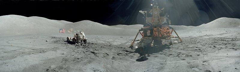 les 40 ans Apollo 17  A17-140-21366-73LR