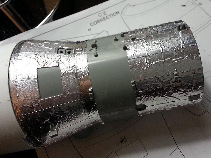 (Maquettes) Tiangong 1 - Shenzhou 9 - Page 3 P1250049
