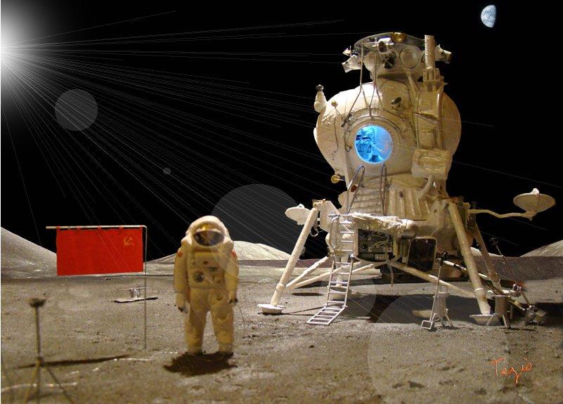 Module lunaire soviétique LK – Maquette 1/24ème - Page 12 Fini_p10